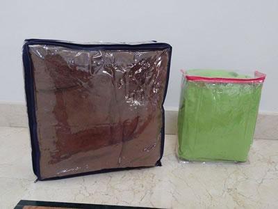 Resultado de imagen para empaque de colchas